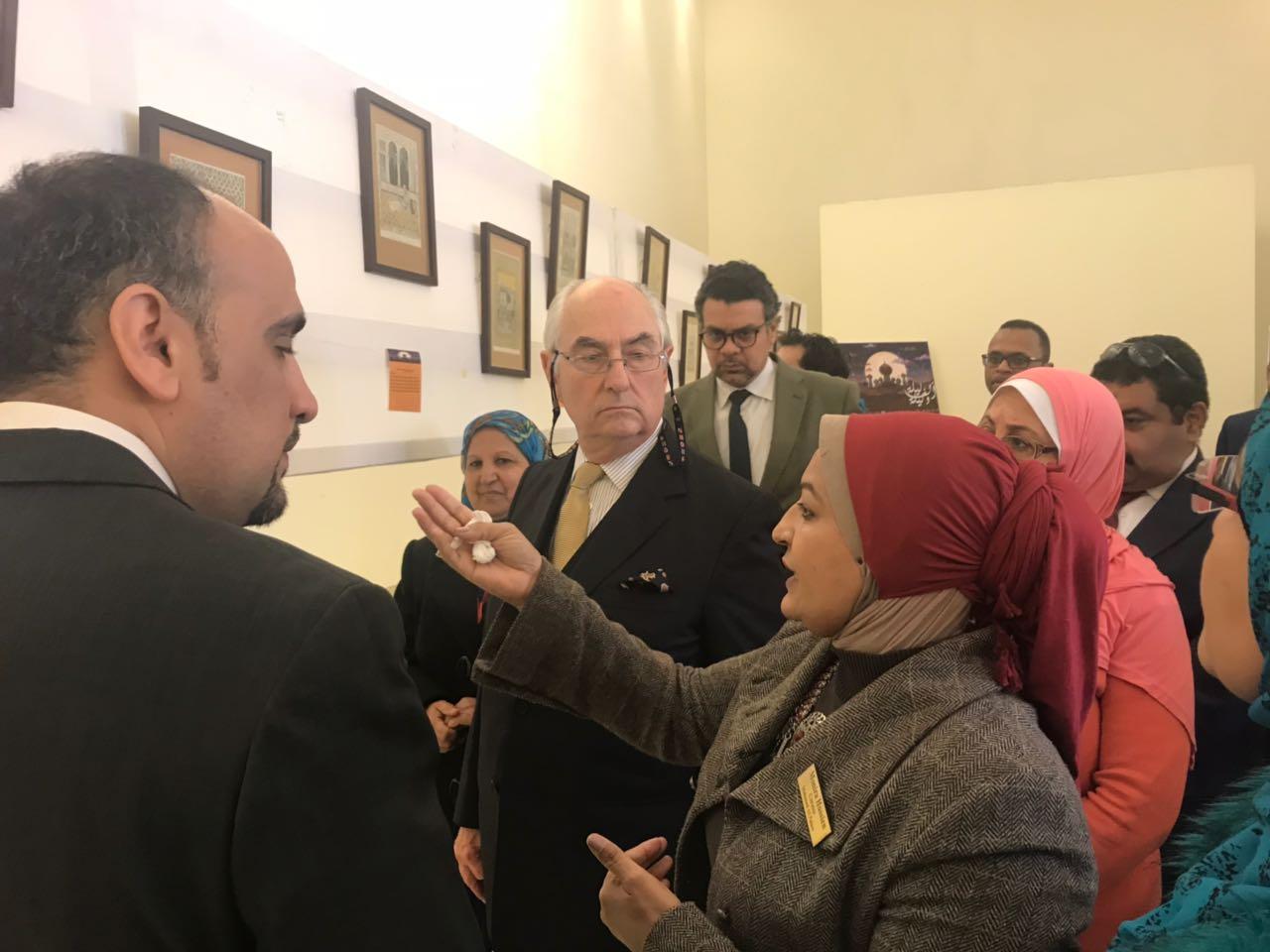 افتتاح معرض الف ليلة وليلة بمتحف قصر المنيل (6)