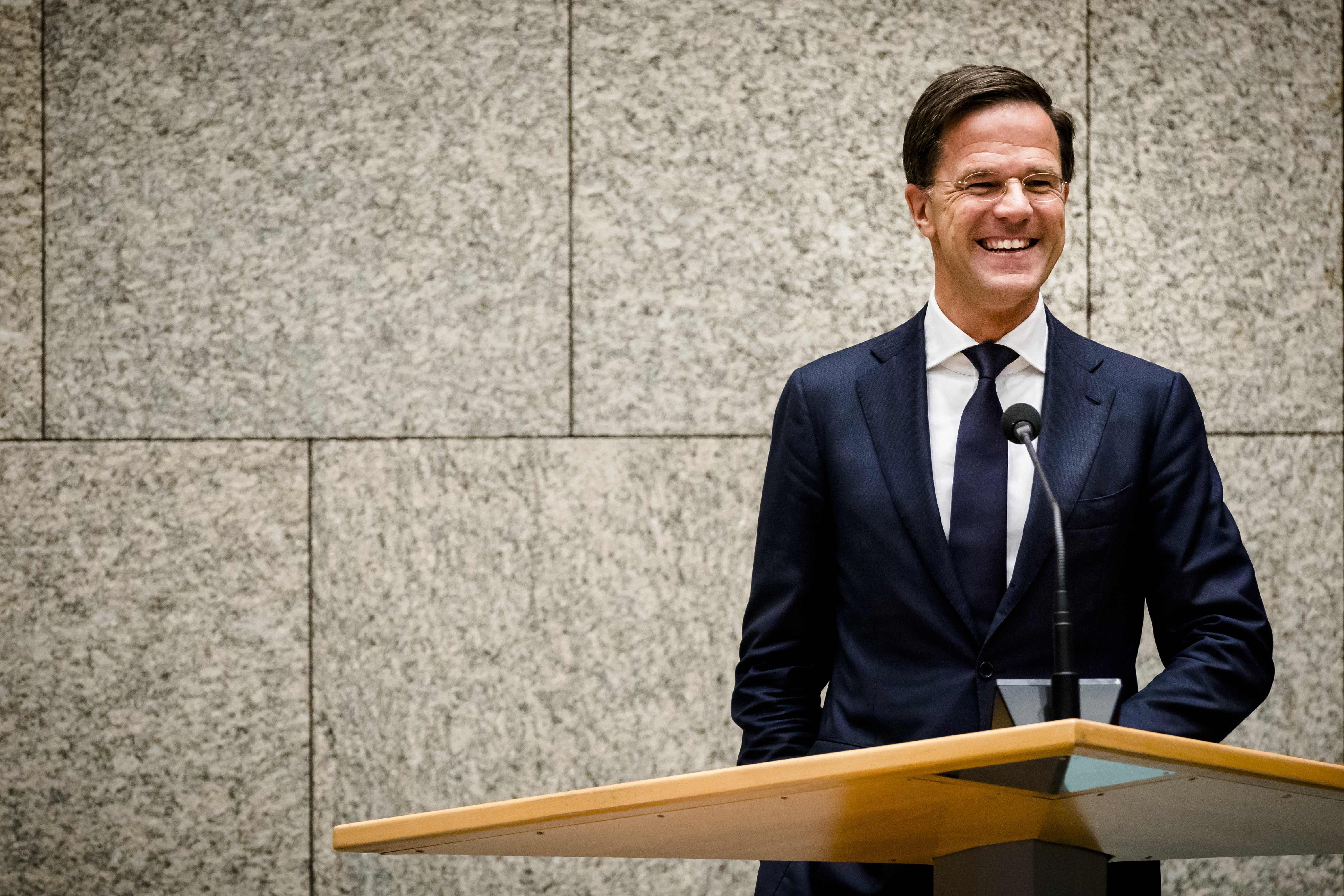 رئيس الوزراء الهولندي مارك روت