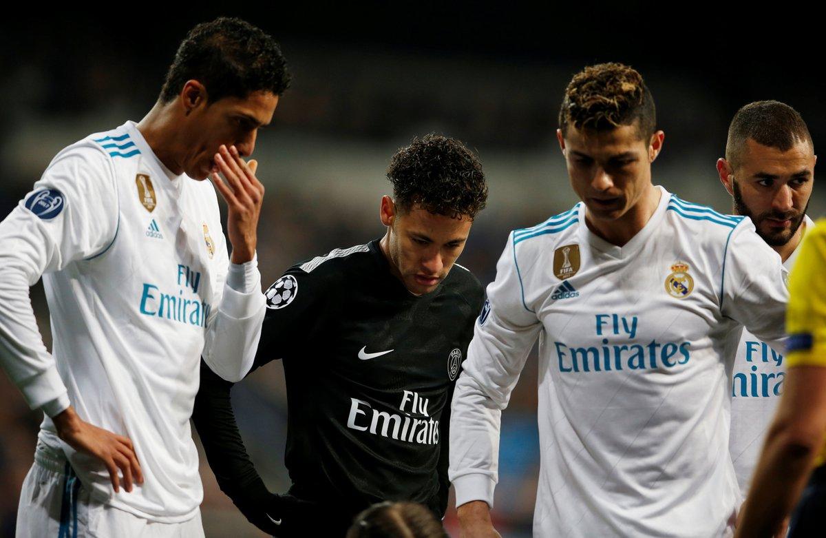 مباراة ريال مدريد وباريس سان جيرمان