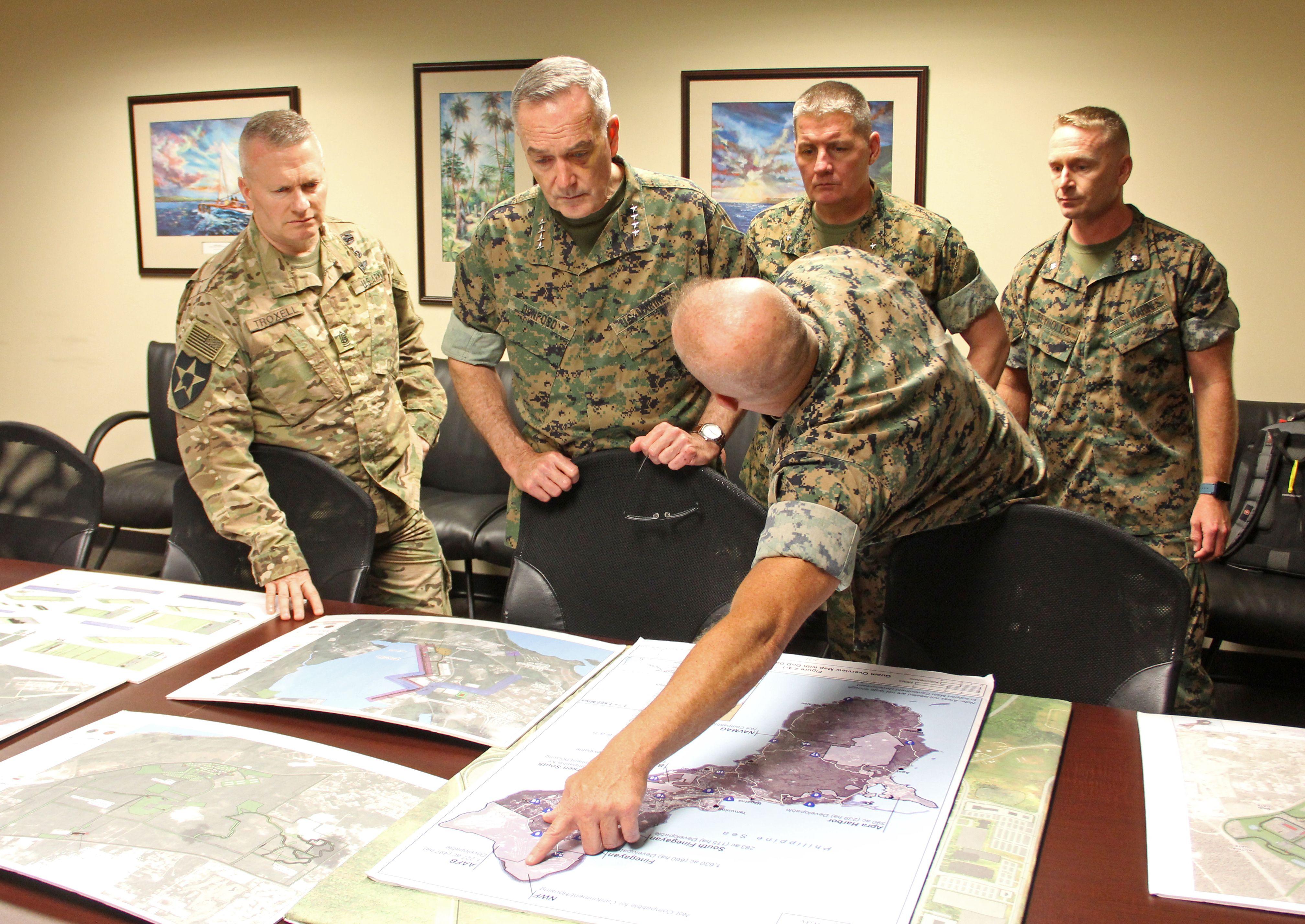 قيادات الجيش الأمريكي