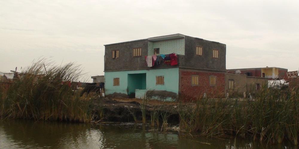 أحد منازل الجزيرة