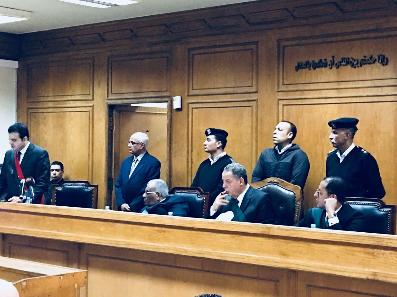 هيئة المحكمة لمحاكمة المتهمين