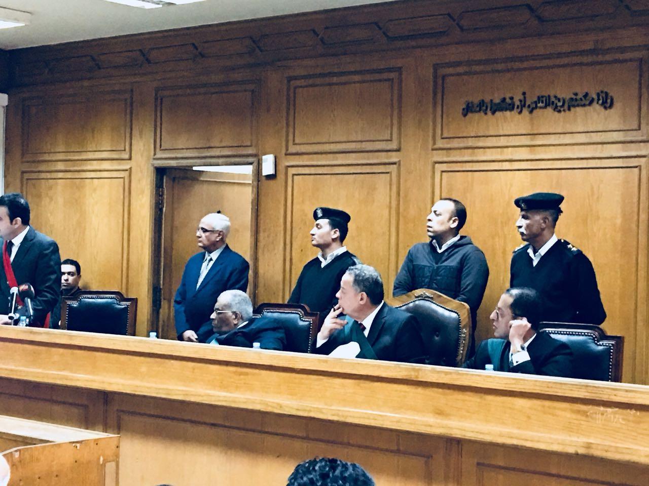 جلسة محاكمة المتهمين بالاتجار