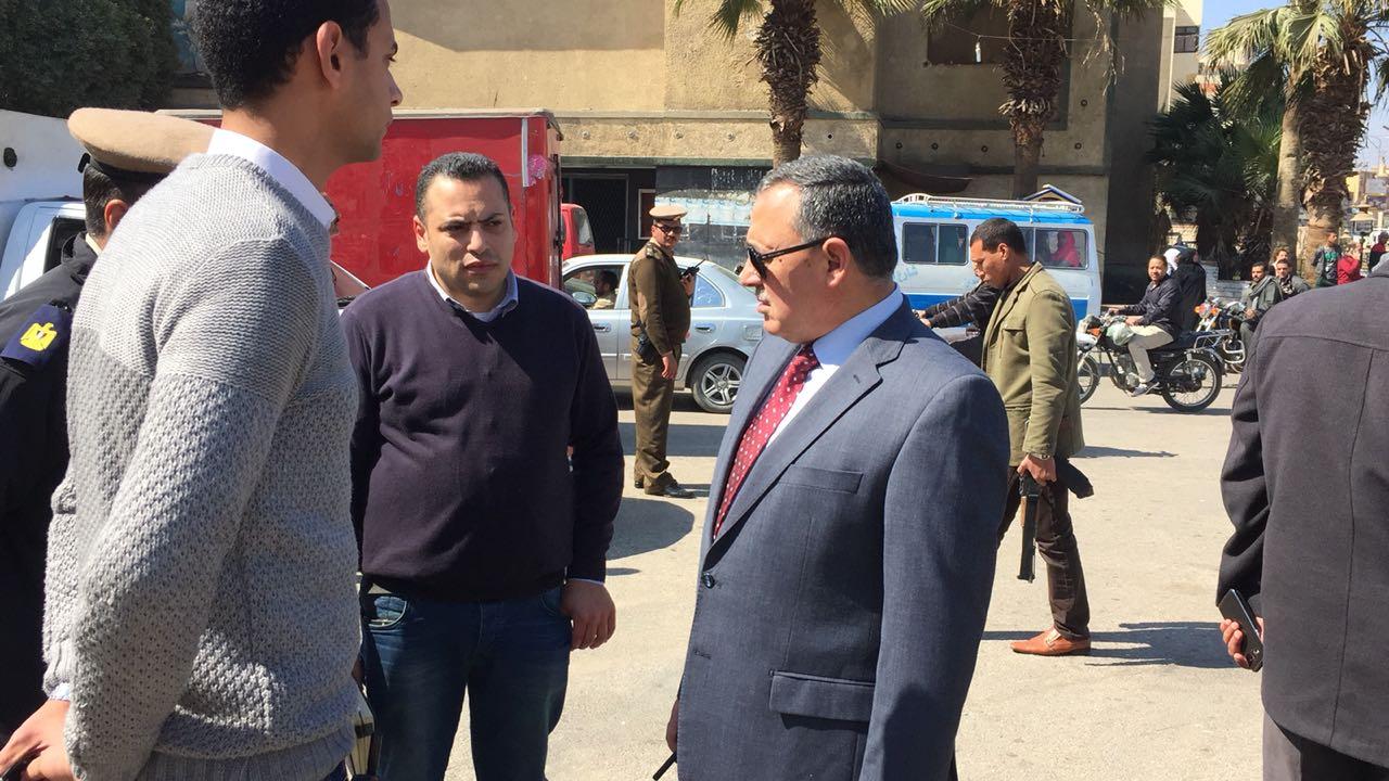 مدير أمن سوهاج يتفقد الأقوال الأمنية بمحيط المدينة  (6)