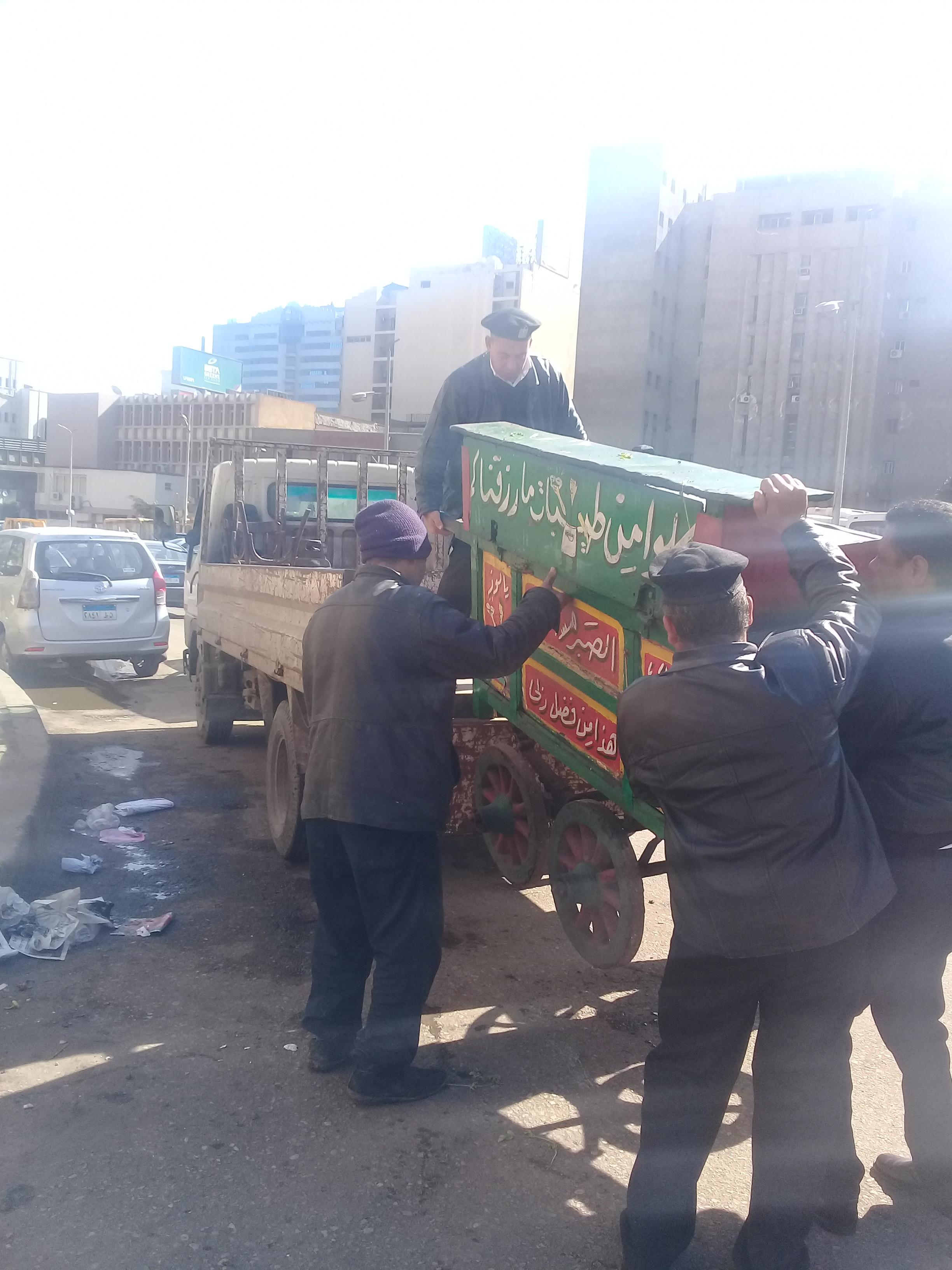 حملات امنية لتطهير شوراع وميادين القاهرة (7)