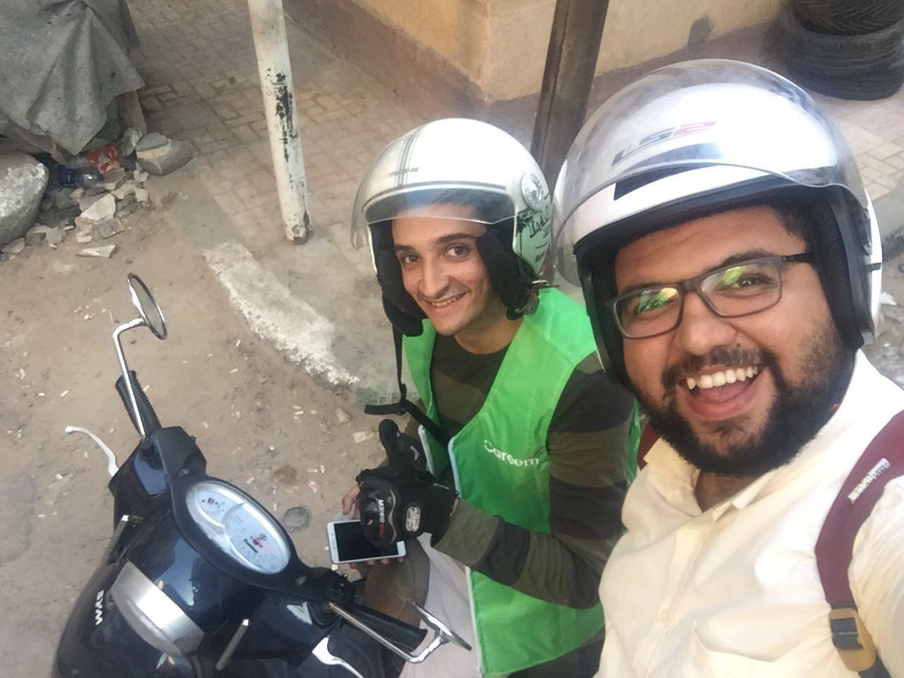 كريم تحارب الزحام بـ Bikes (1)