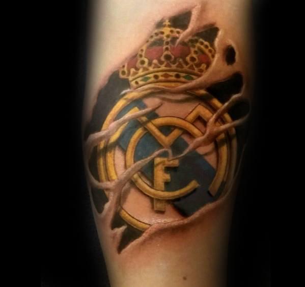تاتو ريال مدريد