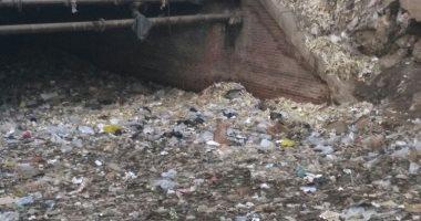 انتشار القمامة وحرقها ببولاق الدكرور