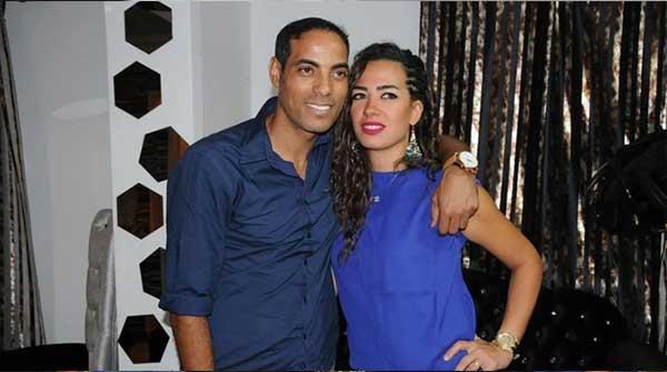 خالد بيبو وزوجته