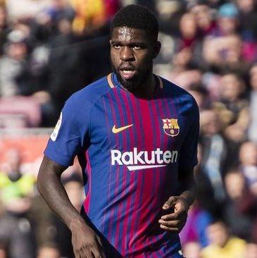 اومتيتي مدافع برشلونة