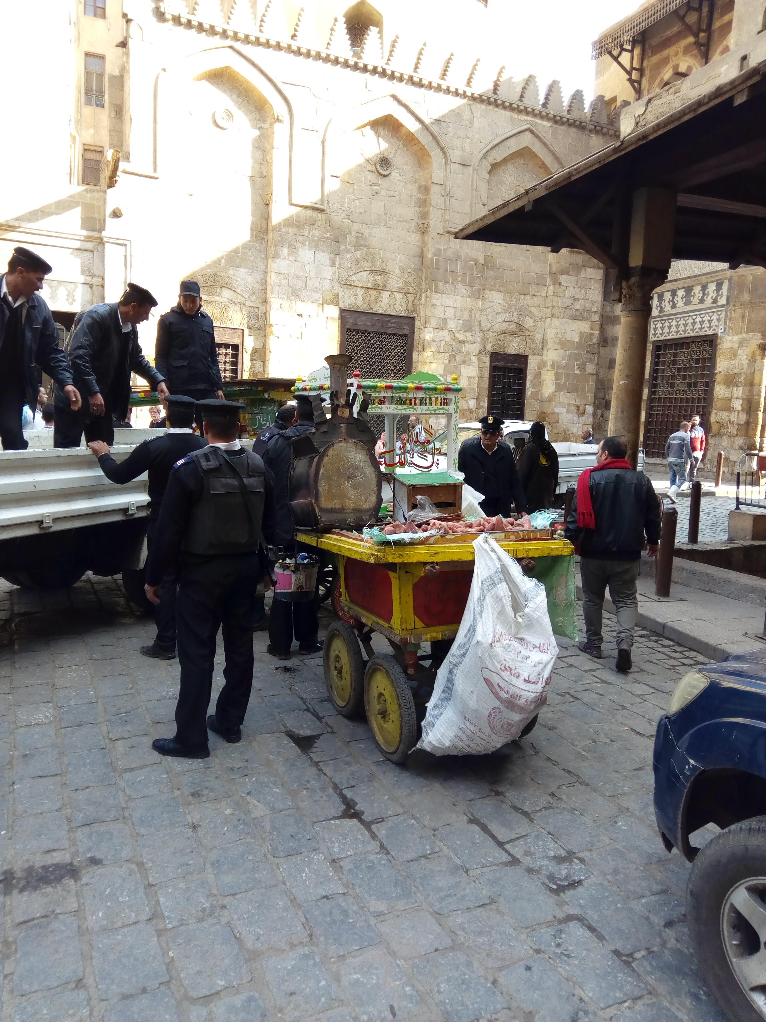 حملات امنية لتطهير شوراع وميادين القاهرة (3)