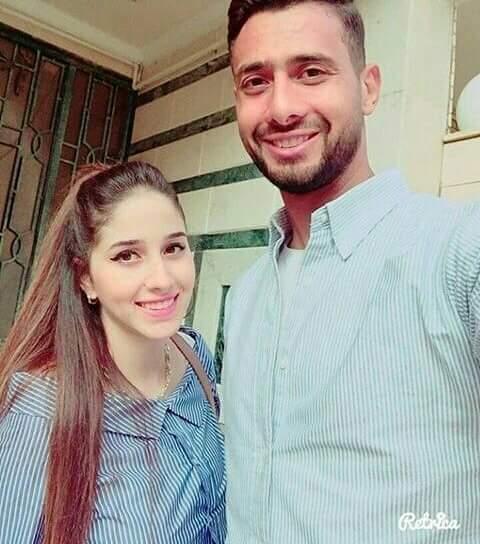 أحمد عادل عبد المنعم وزوجته