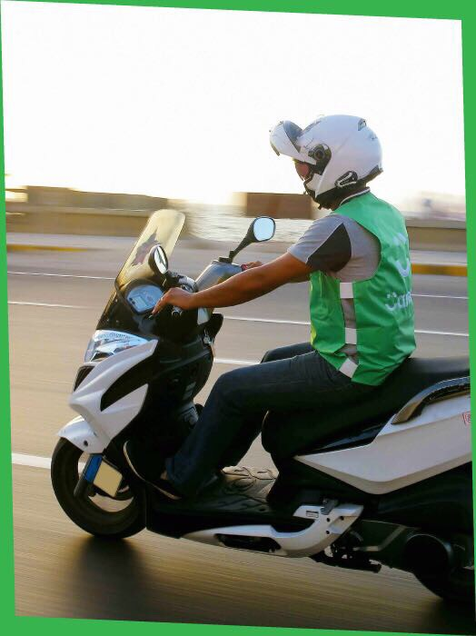 كريم تحارب الزحام بـ Bikes (2)