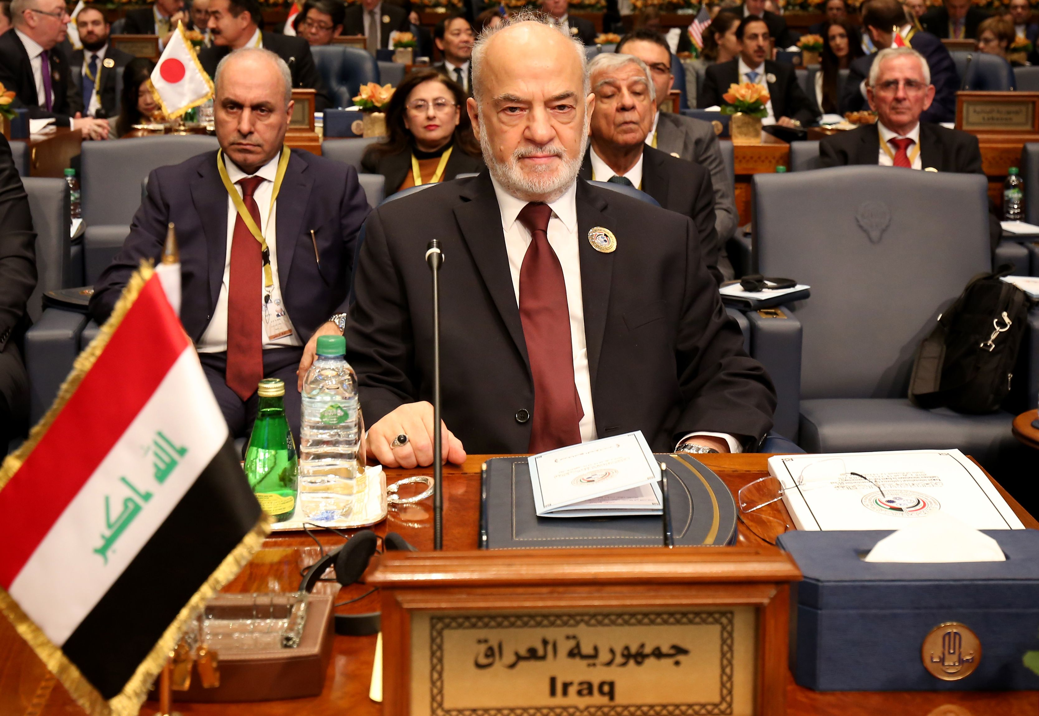 وزير الخارجية العراقي ابراهيم الجعفري