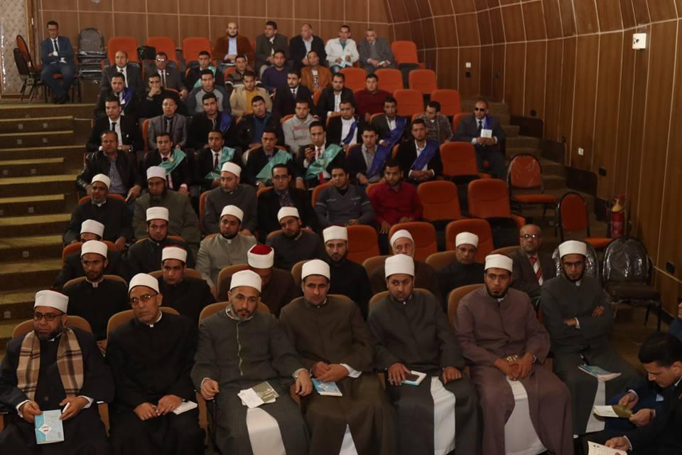 3- الحضور من مشايخ الازهر