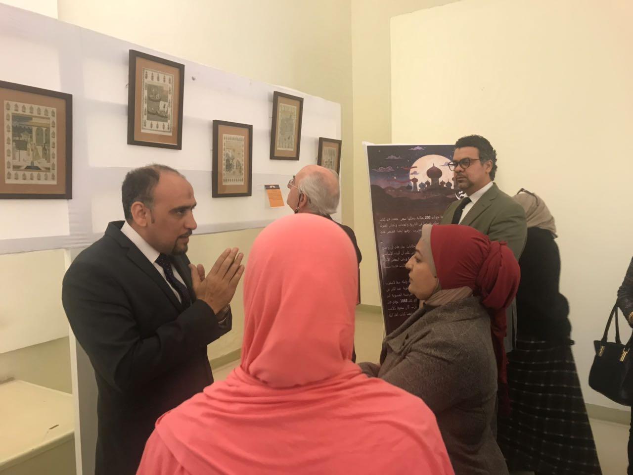 افتتاح معرض الف ليلة وليلة بمتحف قصر المنيل (5)