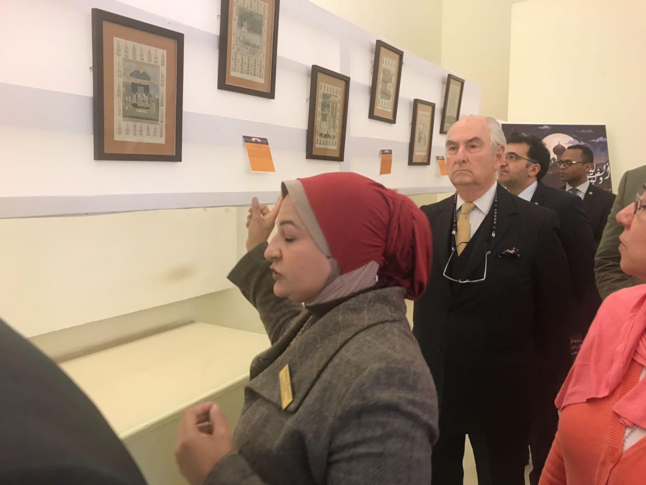 افتتاح معرض الف ليلة وليلة بمتحف قصر المنيل (10)