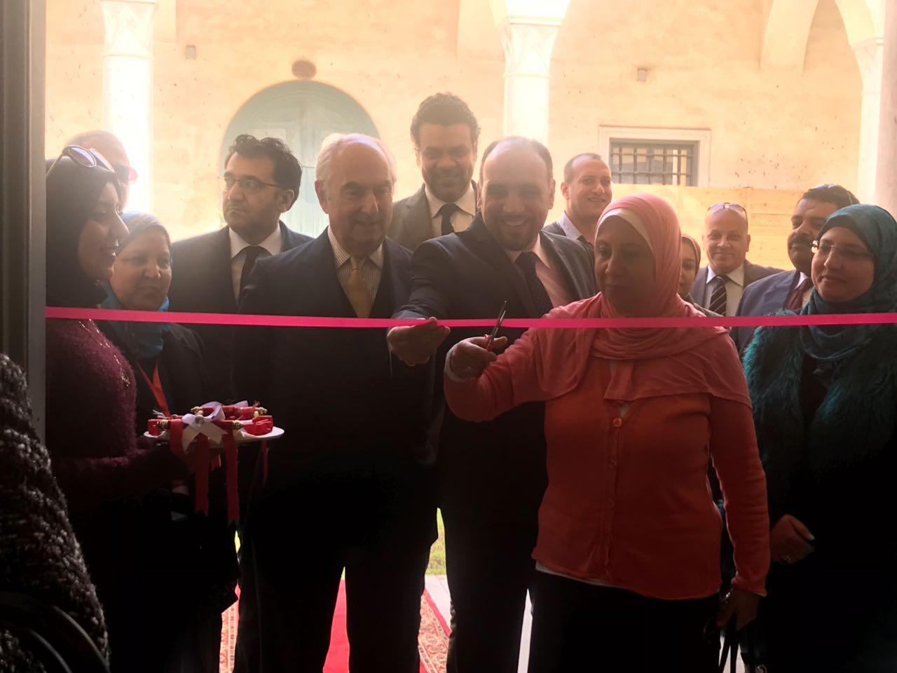 افتتاح معرض الف ليلة وليلة بمتحف قصر المنيل (8)