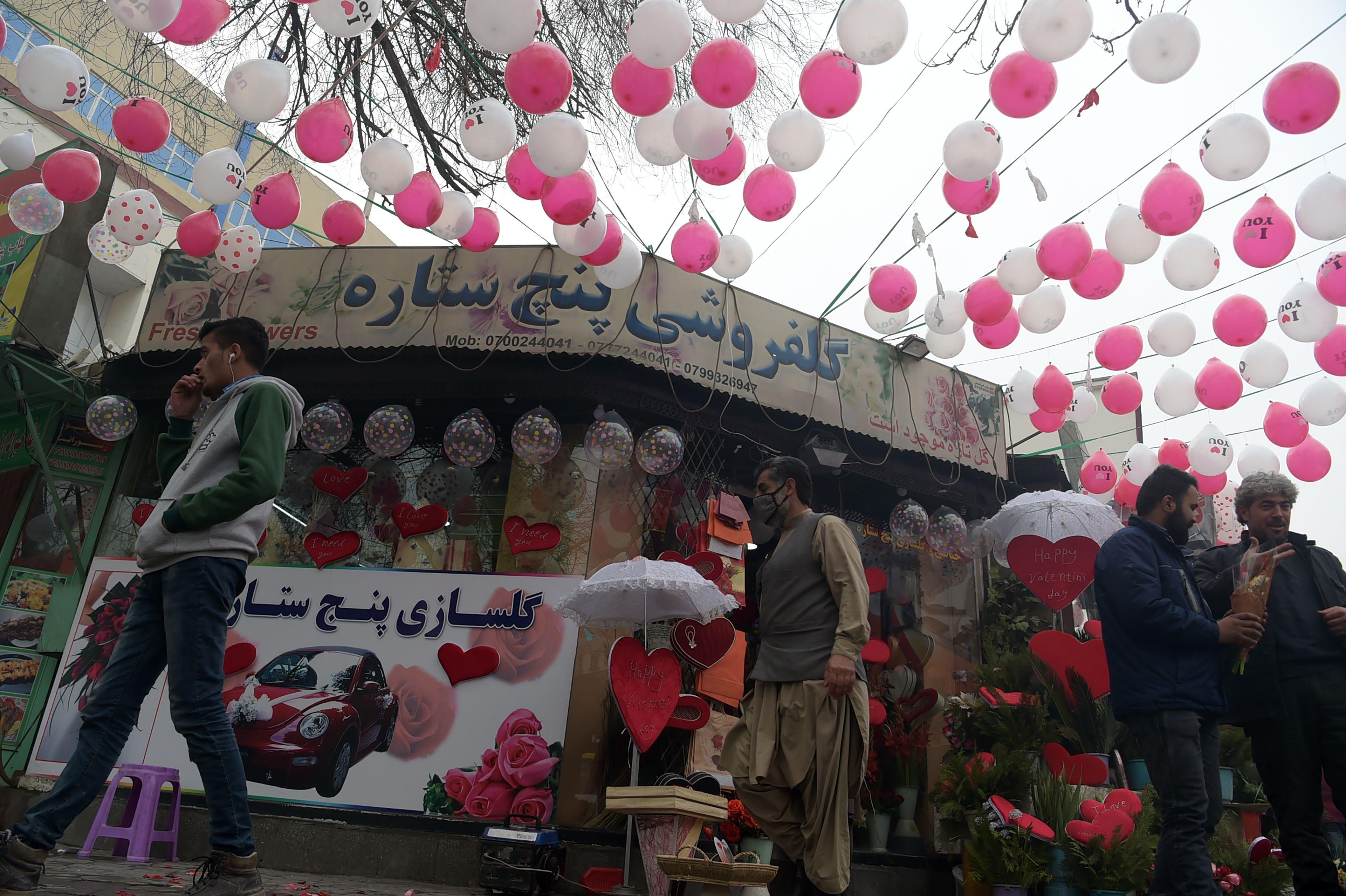 احتفالات عيد الحب فى افغانستان