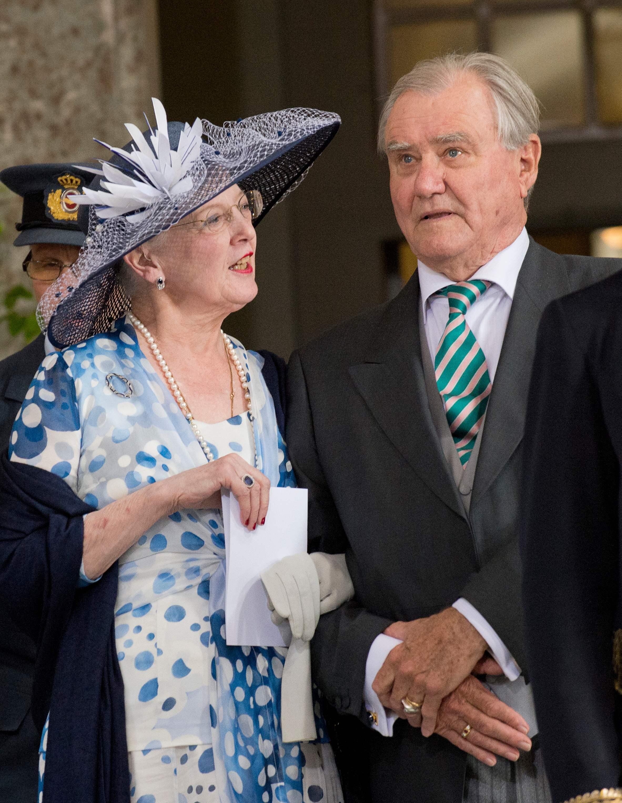الملكة مارغريث والأمير هنريك