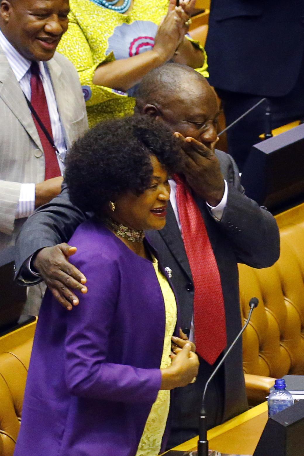 سيريل رامافوسا رئيس جنوب أفريقيا الجديد