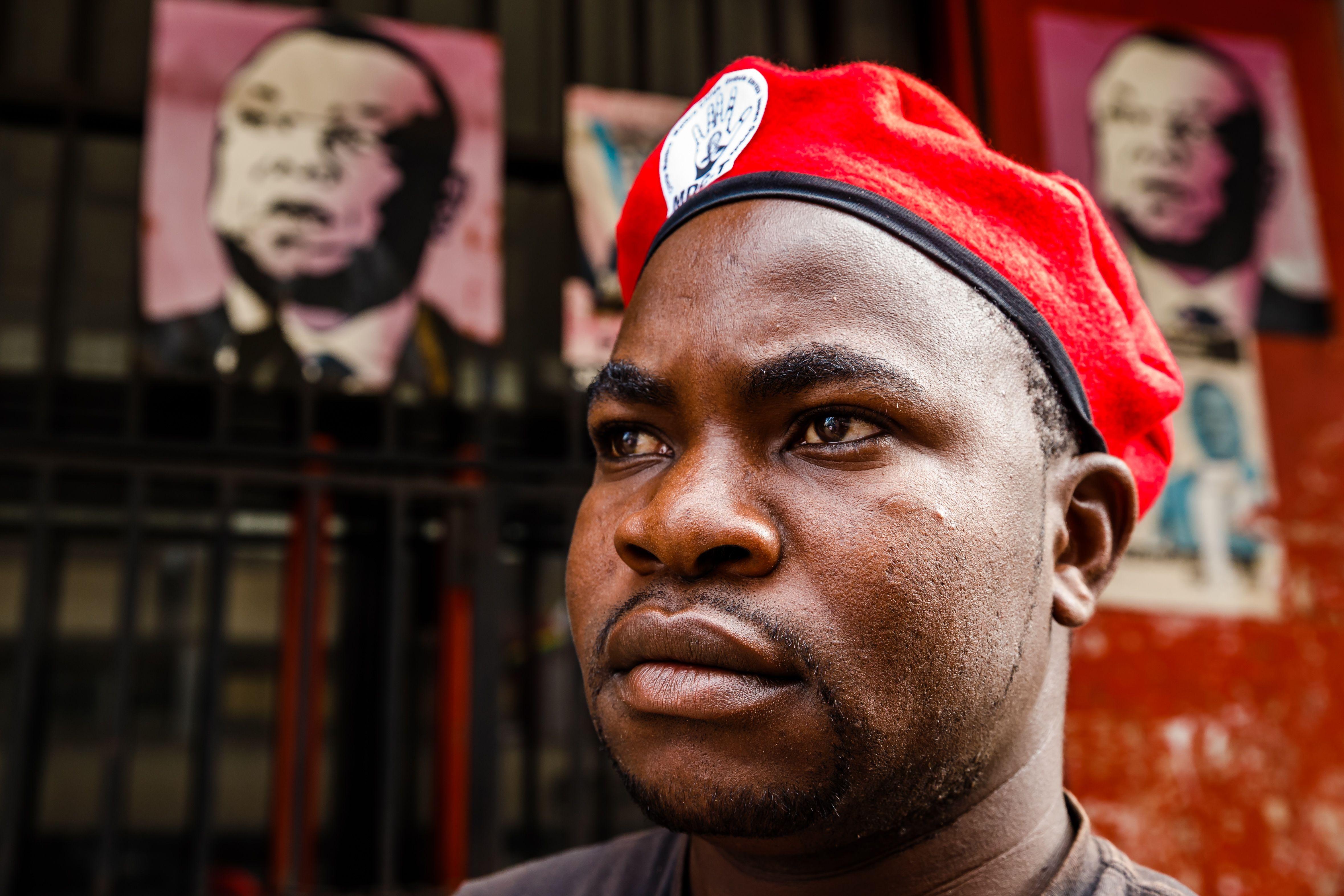 حالة من الحزن لاعضار حزب حركة التغيير الديمقراطى المعارض فى زيمبابوى