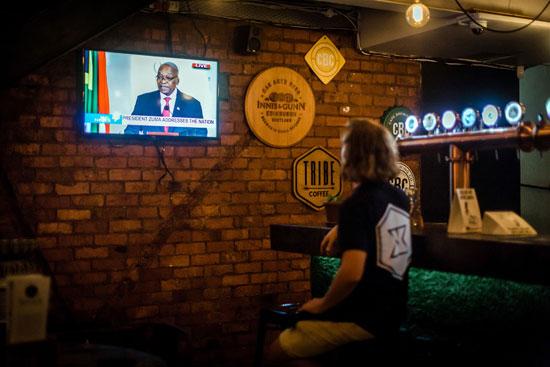 لحظة-استقالة-رئيس-جنوب-أفريقيا-جاكوب-زوما