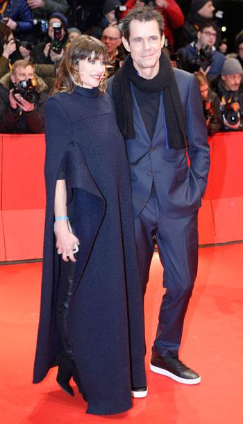 رئيس-لجنة-تحكيم-برلين-الدولية-توم-تيكوير-وزوجته-ماري-شتاينمان