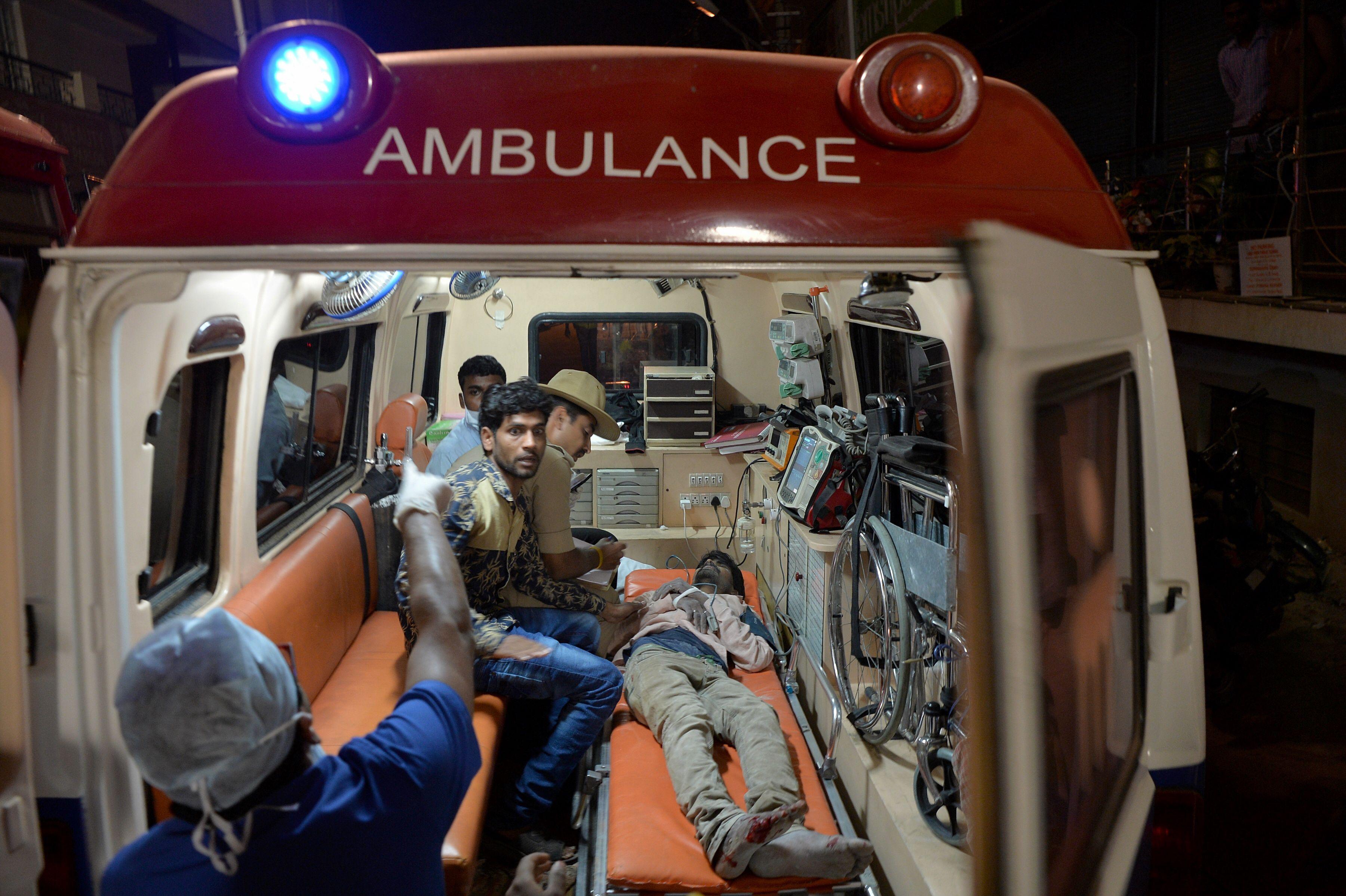 إسعاف الضحايا