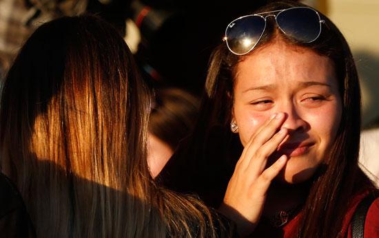 أهالى ضحايا حادث إطلاق النار بمدرسة فلوريدا