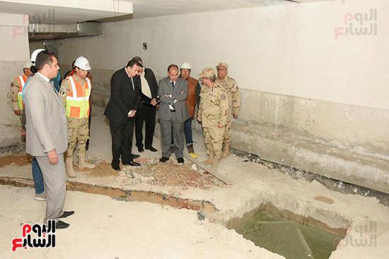 أعمال البنية التحتية بالجراج