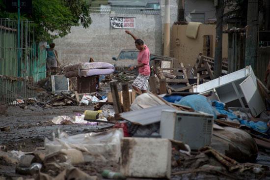 الفيضانات تتسبب فى دمار كبير بالبرازيل