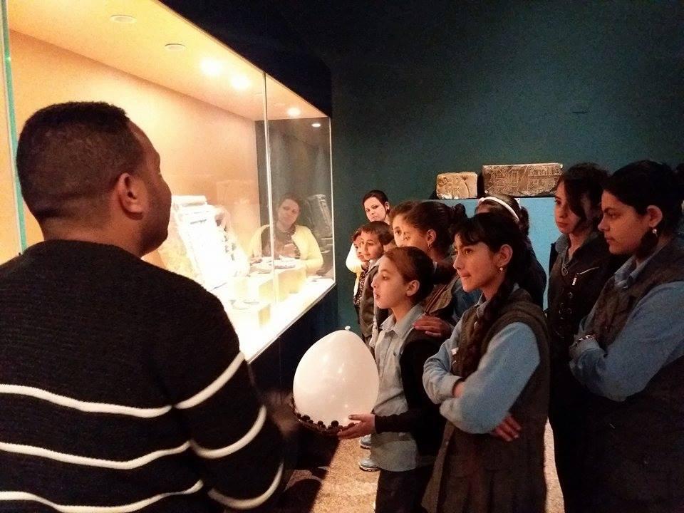 زيارة طلاب المدارس لمتحف ملوى (4)