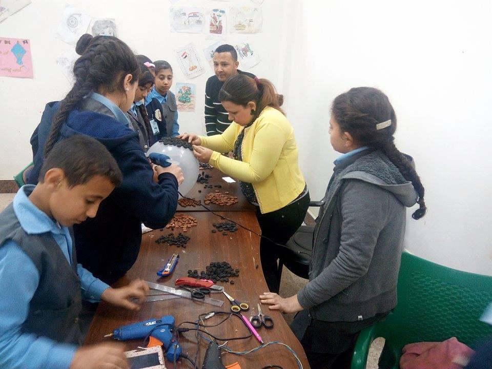 زيارة طلاب المدارس لمتحف ملوى (6)
