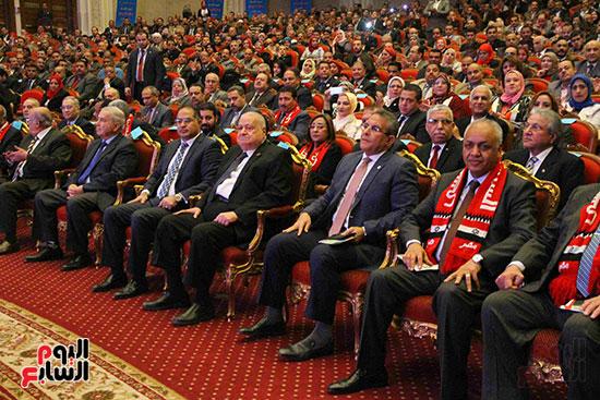 المؤتمر العام لـحماة الوطن لإعلان تأييد السيسى بانتخابات الرئاسة (16)