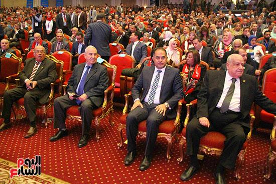 المؤتمر العام لـحماة الوطن لإعلان تأييد السيسى بانتخابات الرئاسة (7)
