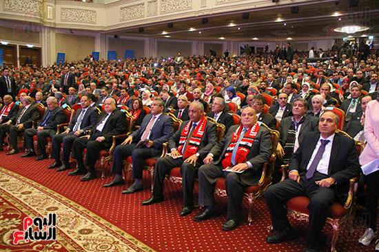 المؤتمر العام لـحماة الوطن لإعلان تأييد السيسى بانتخابات الرئاسة (15)