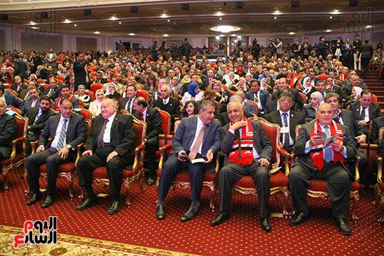 المؤتمر العام لـحماة الوطن لإعلان تأييد السيسى بانتخابات الرئاسة (11)