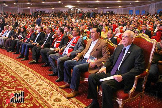 المؤتمر العام لـحماة الوطن لإعلان تأييد السيسى بانتخابات الرئاسة (22)