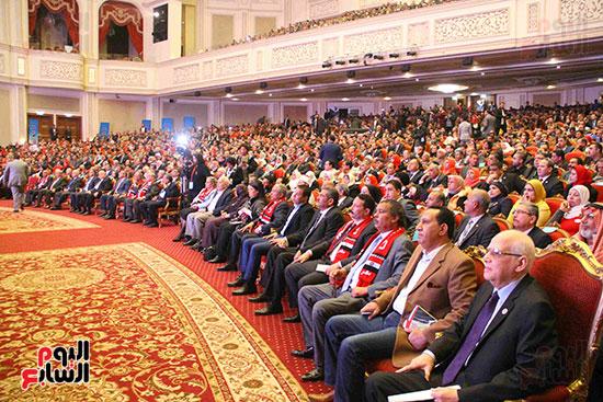 المؤتمر العام لـحماة الوطن لإعلان تأييد السيسى بانتخابات الرئاسة (20)