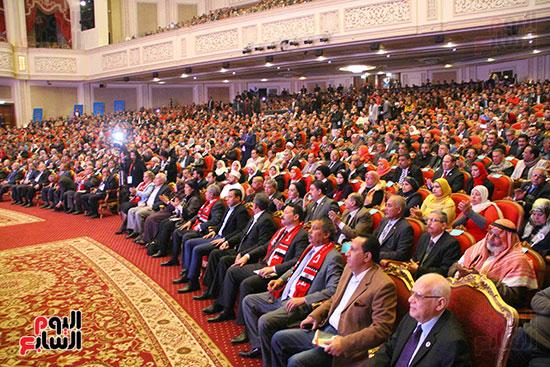 المؤتمر العام لـحماة الوطن لإعلان تأييد السيسى بانتخابات الرئاسة (21)