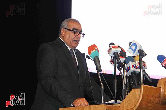 المؤتمر العام لـحماة الوطن لإعلان تأييد السيسى بانتخابات الرئاسة (19)