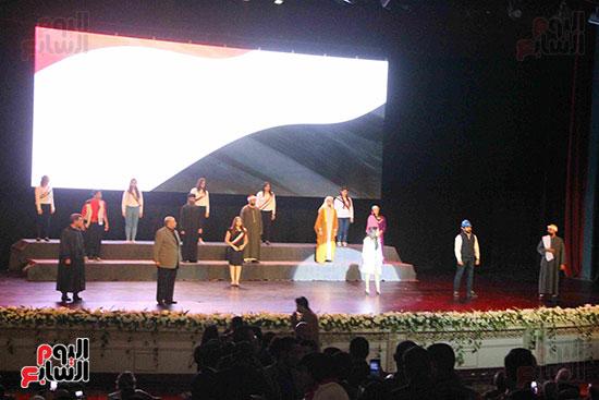 المؤتمر العام لـحماة الوطن لإعلان تأييد السيسى بانتخابات الرئاسة (34)