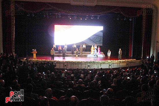 المؤتمر العام لـحماة الوطن لإعلان تأييد السيسى بانتخابات الرئاسة (35)
