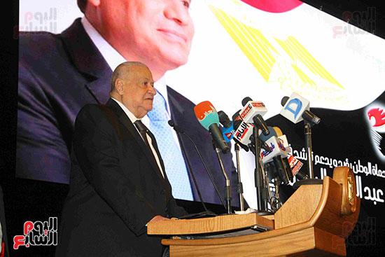 المؤتمر العام لـحماة الوطن لإعلان تأييد السيسى بانتخابات الرئاسة (28)