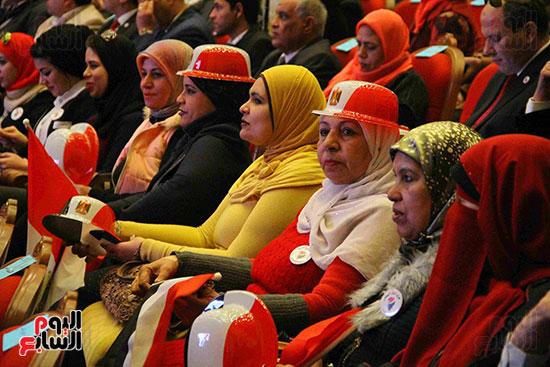 المؤتمر العام لـحماة الوطن لإعلان تأييد السيسى بانتخابات الرئاسة (41)