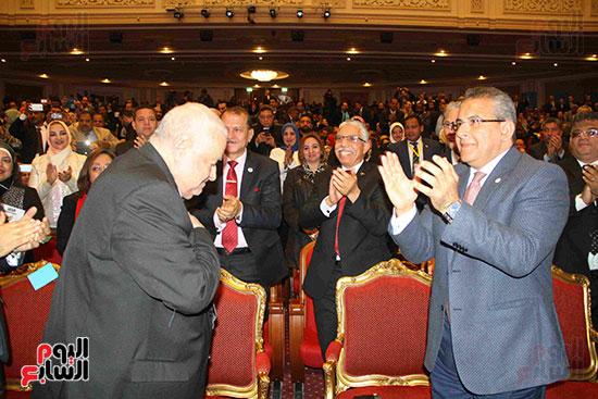 المؤتمر العام لـحماة الوطن لإعلان تأييد السيسى بانتخابات الرئاسة (25)