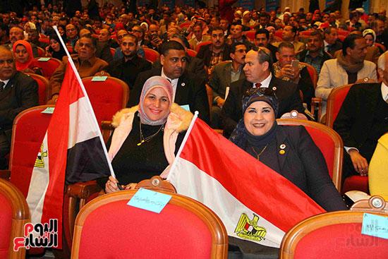 المؤتمر العام لـحماة الوطن لإعلان تأييد السيسى بانتخابات الرئاسة (37)