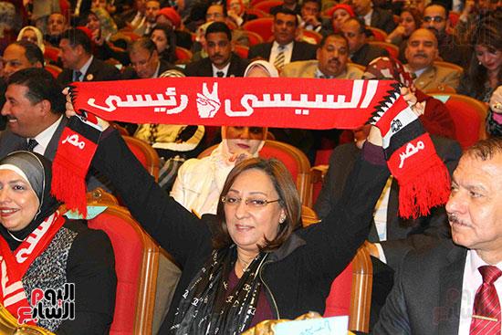 المؤتمر العام لـحماة الوطن لإعلان تأييد السيسى بانتخابات الرئاسة (5)
