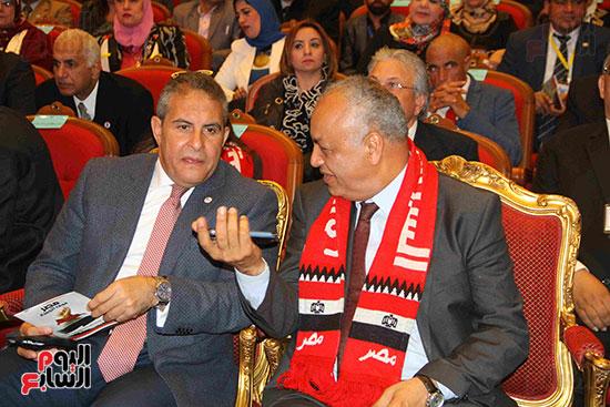 المؤتمر العام لـحماة الوطن لإعلان تأييد السيسى بانتخابات الرئاسة (10)
